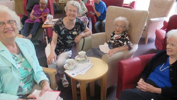 Leicester care home hosts coffee morning